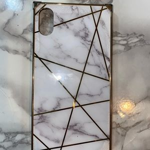Xs Max marble iPhone case